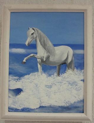 """Вольга Мяжуева (ГДУ імя Ф. Скарыны). """"Белы конь""""."""
