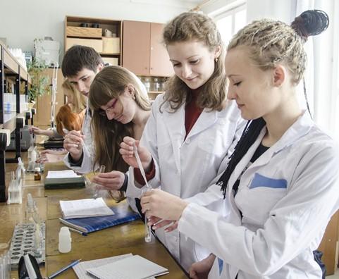 Біяхімікі-студэнты