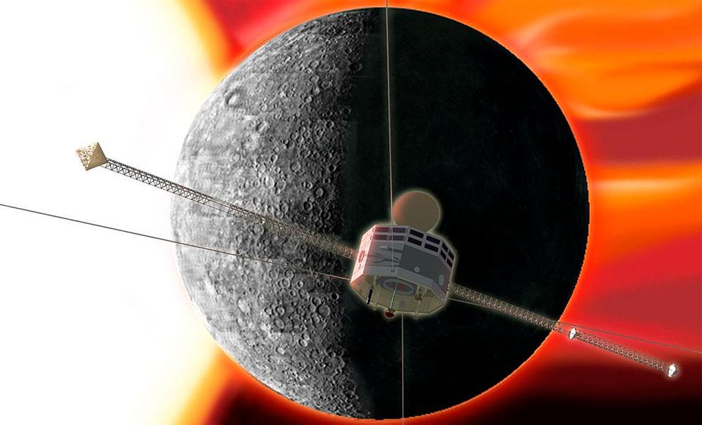 Фота да матэрыялу: На шляху да Меркурыя.