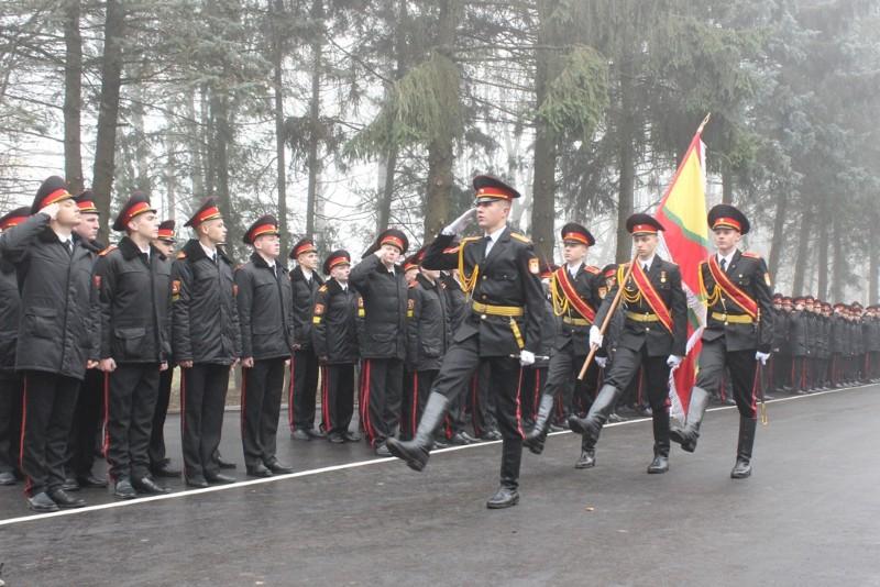Фота да матэрыяла: Магілёўскія кадэты адсвяткавалі наваселле.