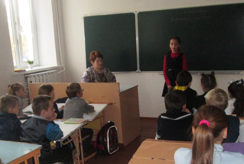 Фота да матэрыяла: Прадметны тыдзень у школе.