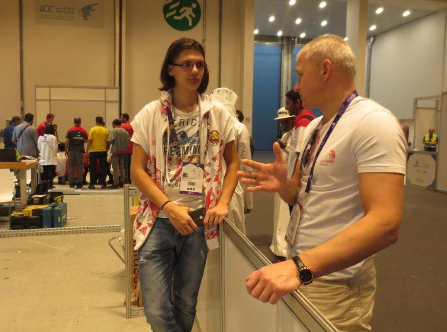 Фота да матэрыяла: WorldSkills Asia: прастора для дыпламатыі.