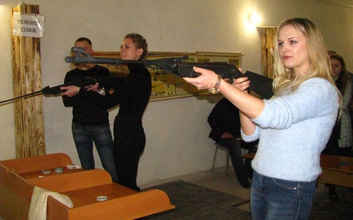 Фота да матэрыяла: Спаборніцтвы па стральбе  ў Мсціслаўскім раёне.